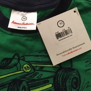Hanna Andersson Shirts & Tops - Hanna Andersson Boys Supersoft Jersey Vroom Tee